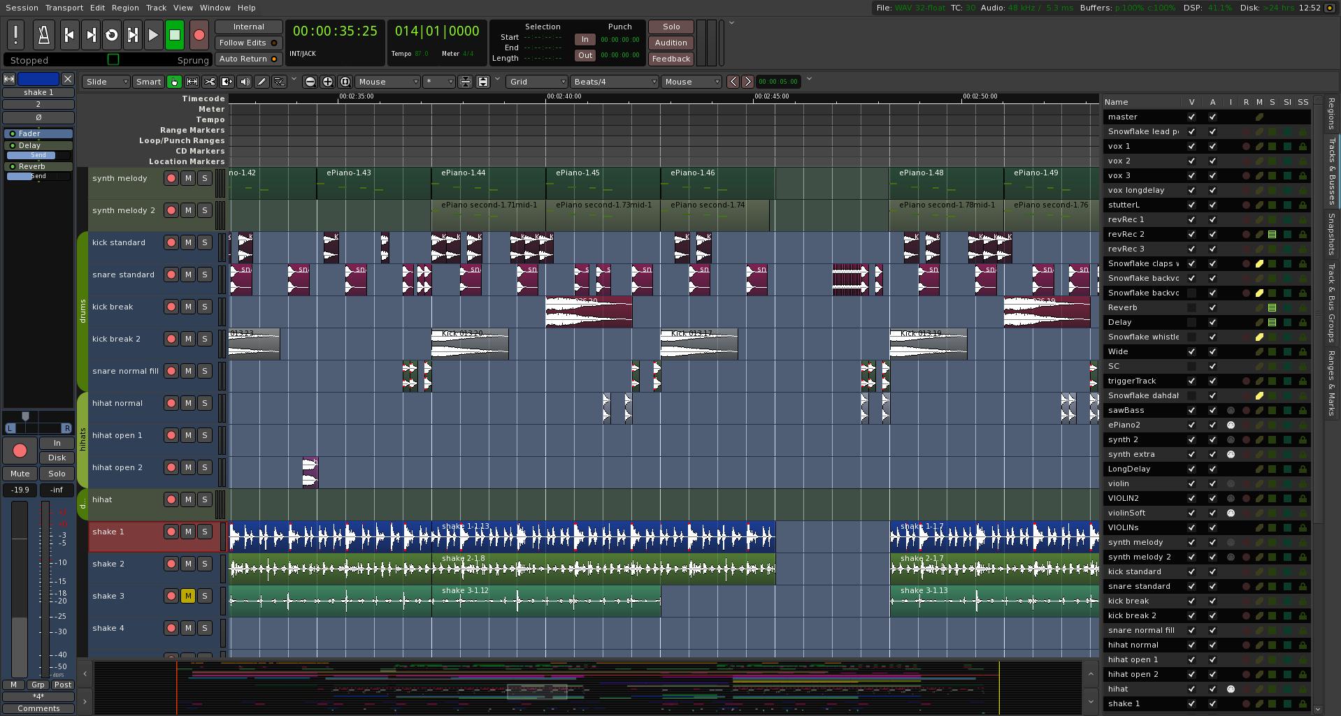 big_editor4 Audio Ardour 5.0 lanzado para Linux