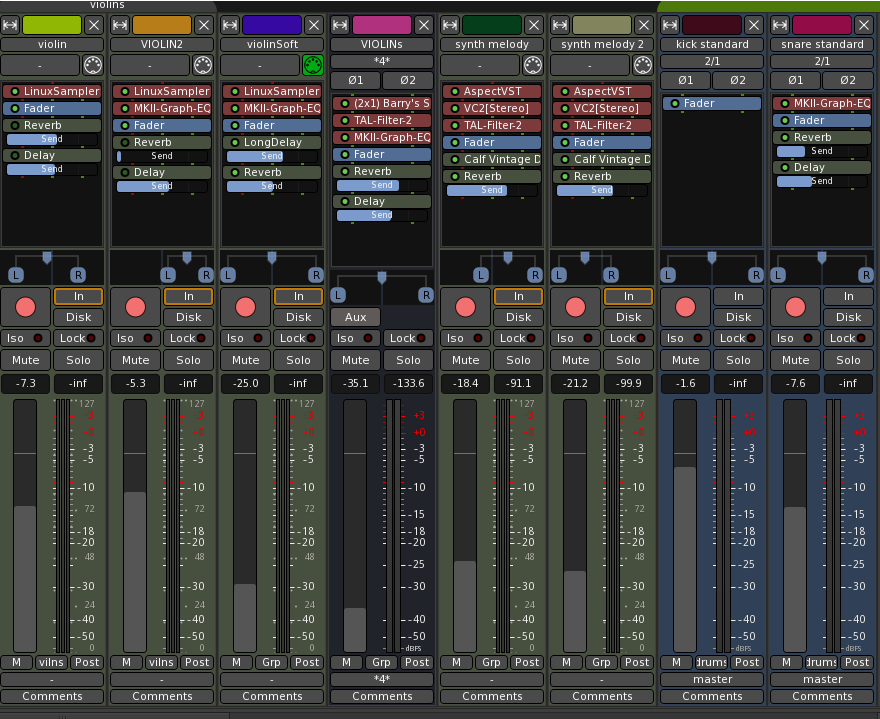 big_mixer4 Audio Ardour 5.0 lanzado para Linux