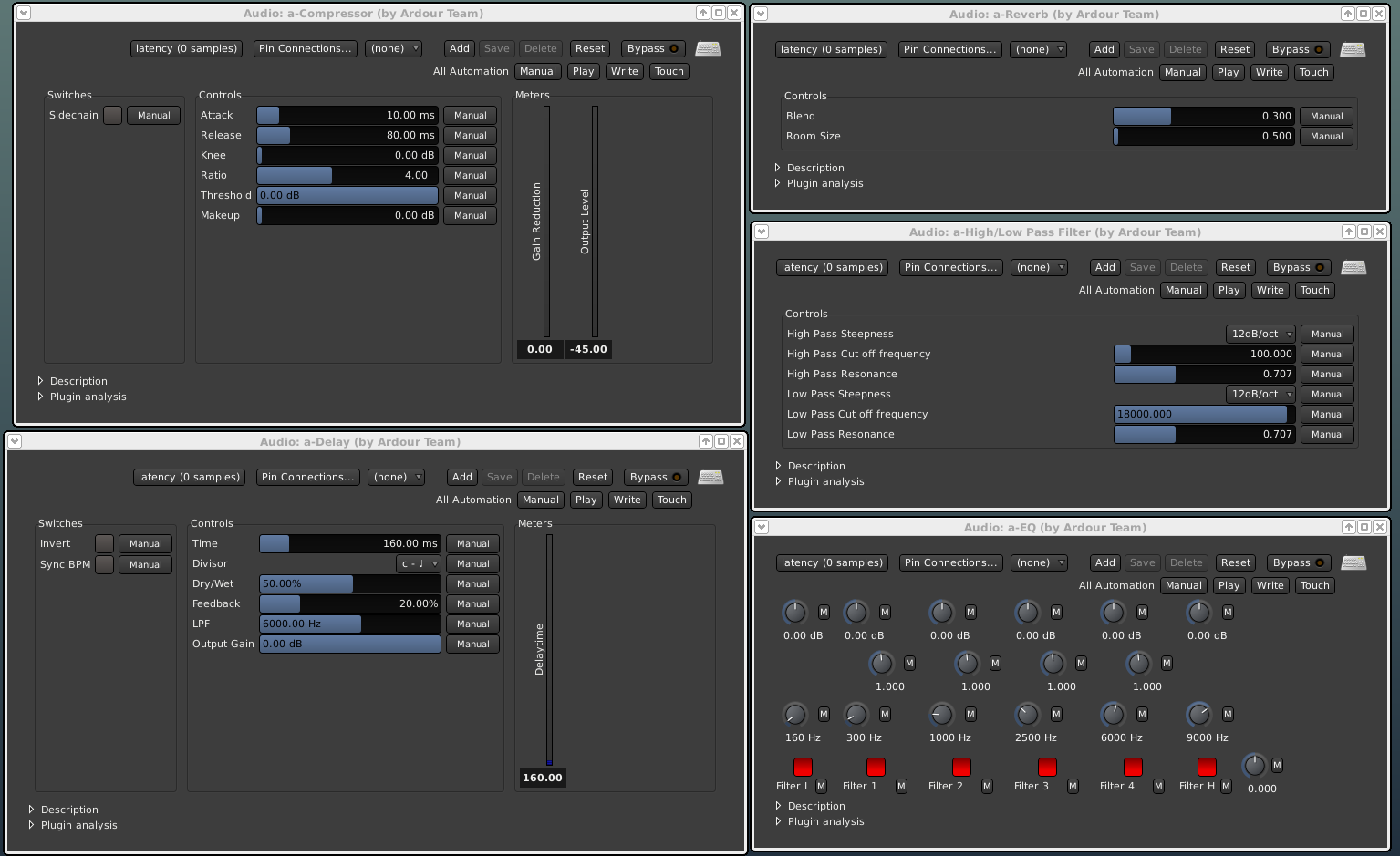 ardour - the digital audio workstation
